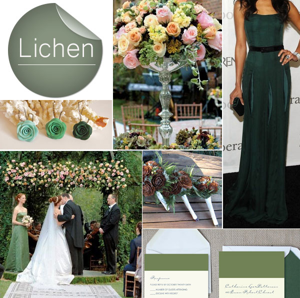 2013-Fall-Lichen-Deep-Green-Wedding-Color-Inspiration