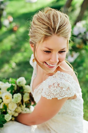 Lace-Wedding-Gown-With-Cap-Sleeves1-300x450